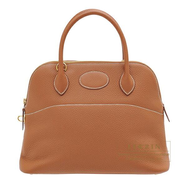 エルメス ボリード31 ゴールド トリヨンクレマンス ゴールド金具 HERMES Bolide bag 31 Gold Clemence leather Gold hardware