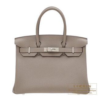 헤르메스 버킨 30 그리아스파르트트고시르바 쇠장식 HERMES Birkin bag 30 Gris asphalt Togo leather Silver hardware