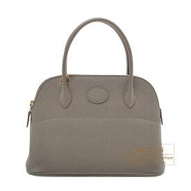 エルメス ボリード27 エタン ヴォーエプソン ゴールド金具 HERMES Bolide bag 27 Etain Epsom leather Gold hardware