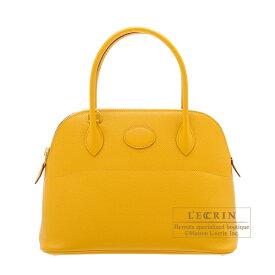 エルメス ボリード27 ジョーヌアンブル ヴォーエプソン ゴールド金具 HERMES Bolide bag 27 Jaune ambre Epsom leather Gold hardware