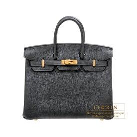 エルメス バーキン25 ブラック トゴ ゴールド金具 HERMES Birkin bag 25 Black Togo leather Gold hardware