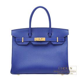 エルメス バーキン30 ブルーエレクトリック ヴォーエプソン ゴールド金具 HERMES Birkin bag 30 Blue electric Epsom leather Gold hardware