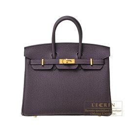 エルメス バーキン25 レザン トゴ ゴールド金具 HERMES Birkin bag 25 Raisin Togo leather Gold hardware