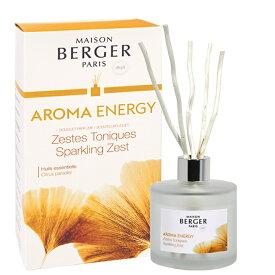 メゾン・ベルジェ パリ アロマリードディフューザー180ml・エナジー Bouquet parfum  brins Aroma Energy(ランプベルジェ)