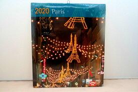 パリの名所カレンダーミニ(壁掛け)2020年 - City de Paris Calendar mini 2020
