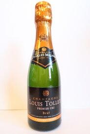 シャンパン シャルル ミニョン ルイ・トレ ブリュット ミニボトル 187ml (送料込) - Champagne Charles Mignon Louis Tollet Brut Mini プレゼント用