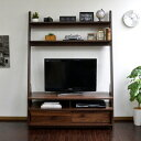 テレビ台 ハイタイプ 北欧デザイン 壁面家具 リビング壁面収納 50インチ対応 TV台 テレビラック 125cm幅 PD004 北欧 …