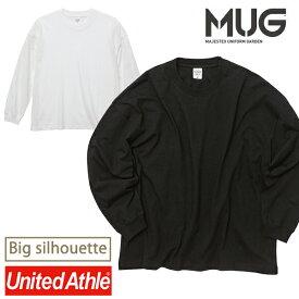 2020AW 新作 ロングスリーブ Tシャツ 5019-01 ユナイテッドアスレ 5.6オンス ビッグシルエット United Athle 長袖Tシャツ