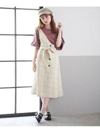 [Rakuten BRAND AVENUE]2WAYワンショルスカート マジェスティックレゴン スカート【RBA_S】