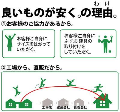 【量産◆かべ紙ふすま】◆和室入口用(601〜1910mm)