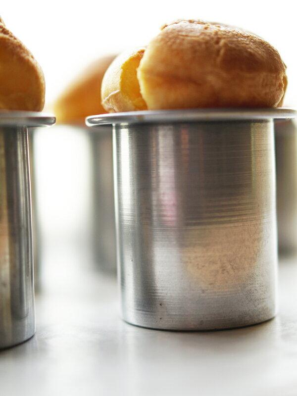 【majimayaオリジナル】【パン型】NEW アルミ製 ポップオーバー型【アルミ】※2017年8月より価格改定