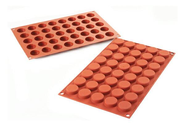 シリコマート シリコンフレックス SF180 パスティール (40個付) シリコンゴム型│silikomart 耐熱 シリコン おしゃれ お菓子型 焼き型 冷凍 冷蔵 ゼリー アイス ババロア 石鹸 せっけん ろうそく オーブン 電子レンジ 使える