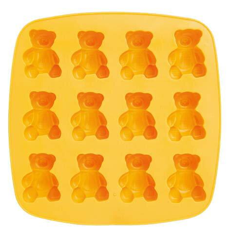 【アイス型】アイスメーカー くま【サーモプラスチックラバー】アイストレー(製氷皿)