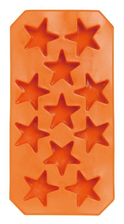 【アイス型】アイスメーカー スター【サーモプラスチックラバー】アイストレー(製氷皿)