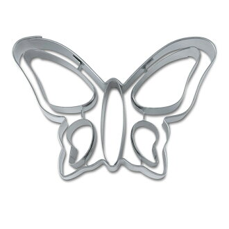 [STADTER in German] cookie cutter (butterfly shape with line)