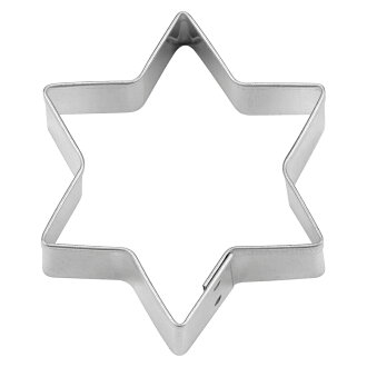 [STADTER in German] cookie cutter (6-pointed star 7cm shape)