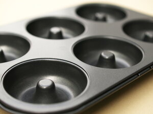 シリコン加工ドーナツ型6ヶ付天板
