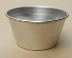 基本のレシピ公開中【プリン型】アルミプリンカップNo.6【アルミ】マフィン型カップケーキ型