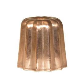 カヌレ型 銅 錫引き 45mm | 空焼き 不要 日本製
