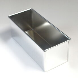 【あす楽】 ブリキ フレンチ パウンドケーキ型 ワイド 20cm | 空焼き 必要 馬嶋屋菓子道具店