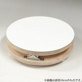 일본제 목제 데코라 회전대(27센치)