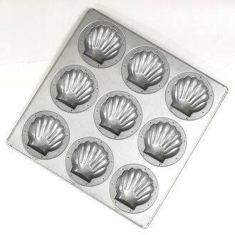 It is product made in making of household use combined use madeleine scallop type cake Japan rain jacket Bridge rain jacket Bridge Majima shop cake tool shop soot for | silicon heating-free duties with nine silicon processing scallop madeleine type top p