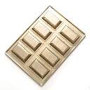 シリコン 加工 黄金 フィナンシェ 深 型 天板 8個付 シャンティーヌ 半田 ブリキ | 空焼き 不要 フィナンシェ型 深型 …