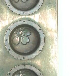 【お一人様1つ限り】【送料無料】馬嶋屋オリジナル櫻型8個付|千代田金属横須賀いづみや三堀純一シリコン加工空焼き不要