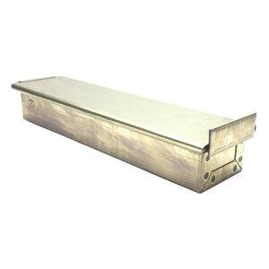 シリコン加工黄金食パン型ハーフフタ付きスリム250x58x高40mm|空焼き不要松永製作所
