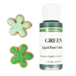 リキッド アイシングカラー 液体状 グリーン LO1050 | 緑 アイシング カラー クッキー デコレーション ケーキ ホットケーキ パンケーキ 誕生日ケーキ バースデーケーキ デコレーションケーキ