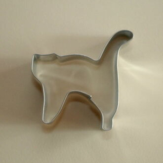 [STADTER in German] cookie cutter (cat shape)