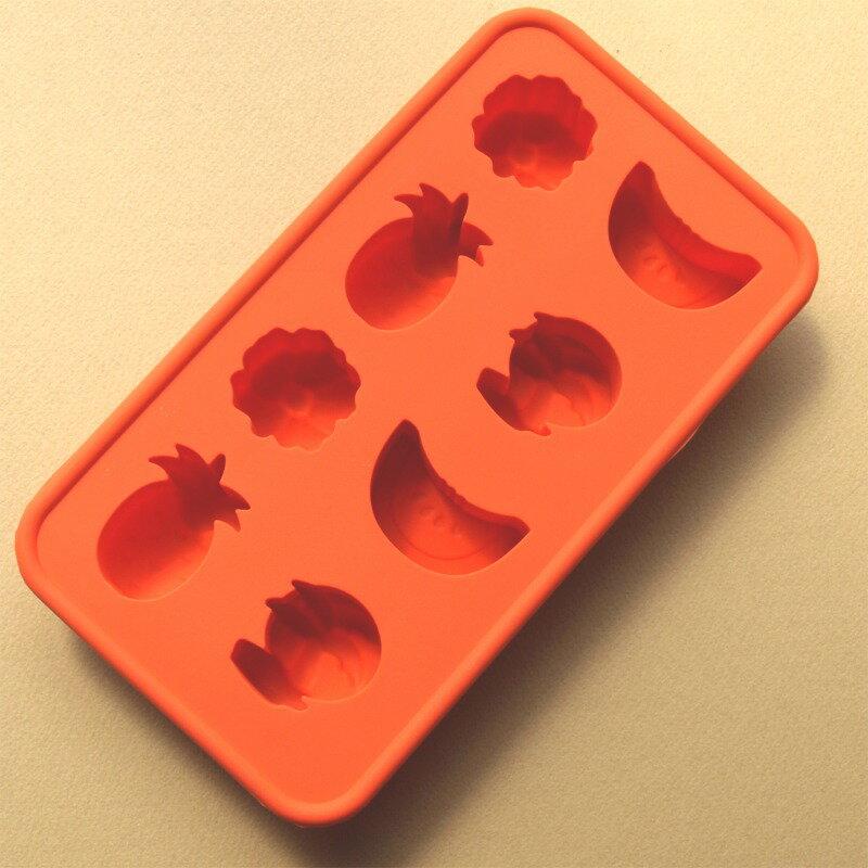 【アイス型】シリコンアイスモールド トロピカル【シリコンゴム型】アイストレー(製氷皿)