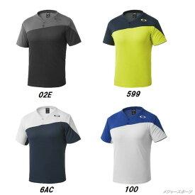 あす楽 OAKLEY(オークリー) ウエアEnhance SS Crew 7.3.0112ボタン付きシャツ 434063JP