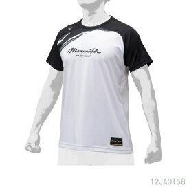 あす楽 楽天ポイント10倍 ミズノプロ 野球 半袖シャツグラフィックTシャツ ユニセックス 12JA0T58アパレル 受注会限定Tシャツ
