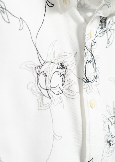 ☆リゾート人気2020☆かりゆしウェアかりゆしシャツ結婚式メンズ長袖シャツボタンダウン大きいサイズ沖縄版アロハシャツMAJUNマジュンmajunギフトプレゼント国産エンブロイダリーボルドL/S