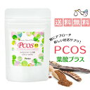 PCOS 葉酸 プラス サプリメント (約1ヶ月分) カイロイノシトール配合 【送料無料】ピニトール 糖質 ビタミンE ビタミ…