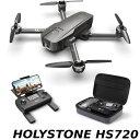 Holy Stone HS720 ドローン GPS搭載 折り畳み 4K広角カメラ付き フライト時間26分 ブラシレスモーター 収納ケース付き…