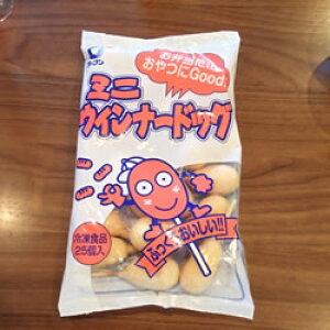 オーブン)ミニウインナードック 冷凍 25g*25本入り