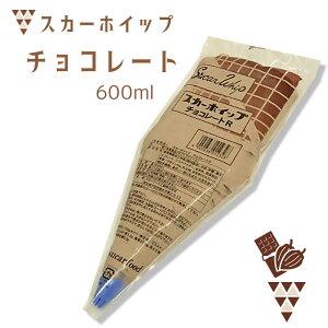 スカーフード)スカーホイップ チョコレート 600ml