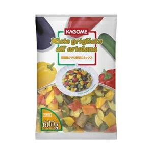 冷凍野菜 洋風料理に!カゴメ) 菜園風グリル野菜のミックス 600g