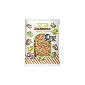 冷凍野菜 カゴメ)業務用 ミックスピメント(スモールダイス) 500g