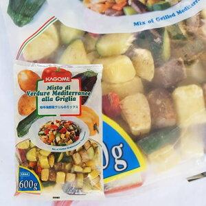 冷凍野菜!カゴメ) 地中海野菜グリルのミックス 600g