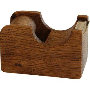 オークヴィレッジ テープカッター 小 ブラウン 幅7.3×奥行3.9×高さ4.6cm 01015-11 新生活