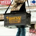 [DRESS(ドレス)]DRESSトランクカーゴフタつきモデルセミハードタイプ(縦40cm×横60cm×高さ31cm)[ブラック/オレンジ]