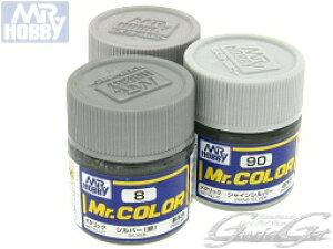 スーパーセール感謝クーポン配布☆[GSIクレオス] Mr.カラー シルバー系カラー[10ml] [C-8シルバー/C-90シャインシルバー/C-159スーパーシルバー] ラッカー系溶剤アクリル樹脂塗料