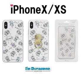 596c6e369e 【ラッキーシール対応】【iphoneケース フラワーリング ドラえもん iPhoneX iPhoneXS スマホケース クリアケース