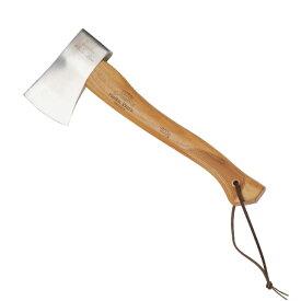 クラシックライン Mark−1(マーク1) 鏡面仕上げの美しい刃と使い心地抜群のローレット・グリップを備える工芸品のような斧 焚付作り、切断用に ヘルコ アックス