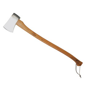 クラシックライン Mark−4(マーク4) 鏡面仕上げの美しい刃と使い心地抜群のローレット・グリップを備える工芸品のような斧 針葉樹などの簡単な薪割り、伐木、切断用に ヘルコ アックス