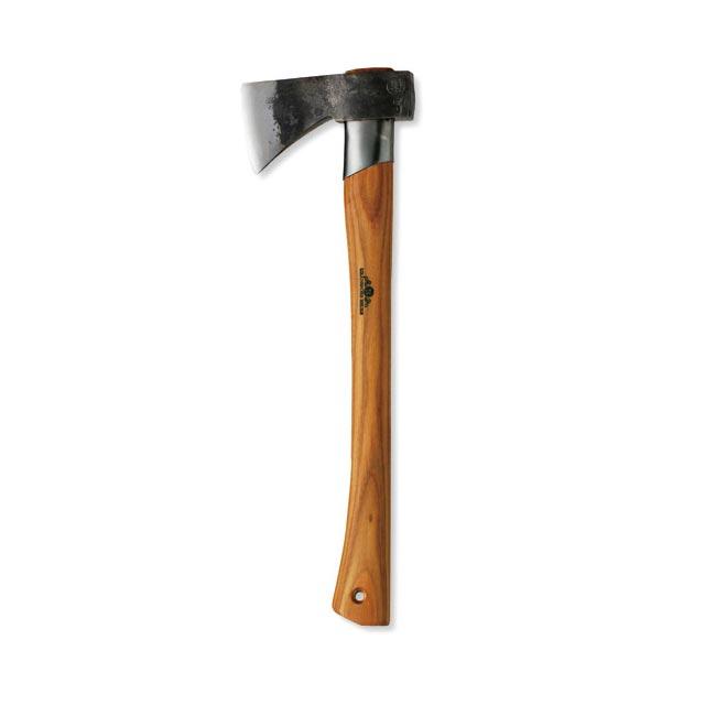 【送料無料】グレンスフォシュ・ブルーク アウトドアアックス スウェーデン鋼の頑強な斧。製作者のイニシャル刻印入り。サバイバル熟練者と熟練斧職人とのコラボレーション斧。小型の万能タイプ 片手用