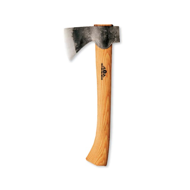 【送料無料】グレンスフォシュ・ブルーク ミニハチェット スウェーデン鋼の頑強な斧。針葉樹などの焚きつけ作りやアウトドアで重宝します。 アックス